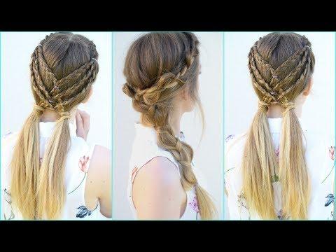 2 Easy  Braided Hairstyle Ideas | Braided Hairstyles | Braidsandstyles12