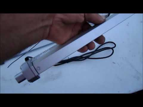 Solar Panel Actuator Arm From China There Weak Spot