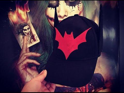 DIY Bombshell Batwoman Baseball cap