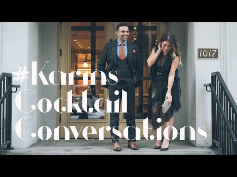 Karin's Cocktail Converations: BESPOKE SUITS w/ JASON SARAI