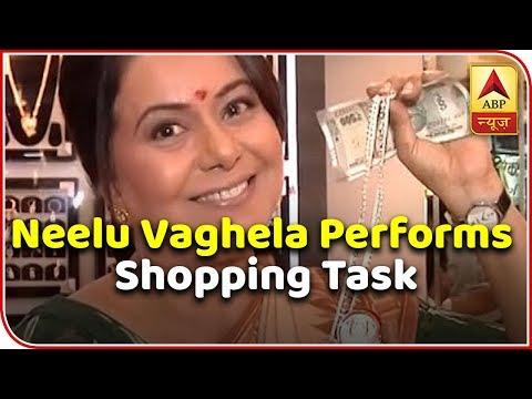 Xxx Mp4 TV Actress Neelu Vaghela Performs Shopping Task With ABP News 3gp Sex