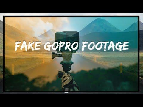 DSLR Footage to GOPRO