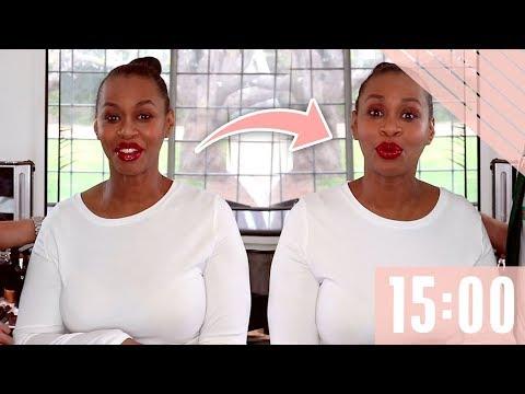 15 Minute Face - GloZell xoxo