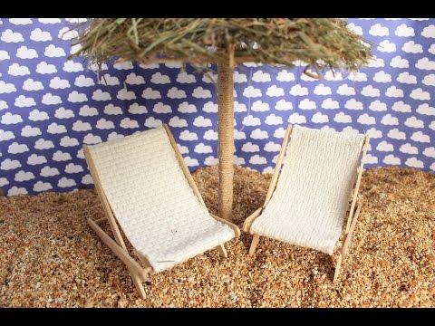 DIY HOW TO MAKE A BEACH CHAIR / Cómo hacer una silla de playa