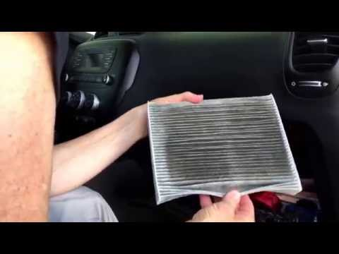 KIA Soul cabin air filter replacement in under 5 minutes. DIY!