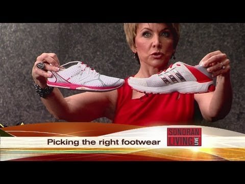 Buying the right tennis shoe!