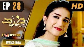 Pakistani Drama   Zid - Episode 28   Express TV Dramas   Arfaa Faryal, Muneeb Butt