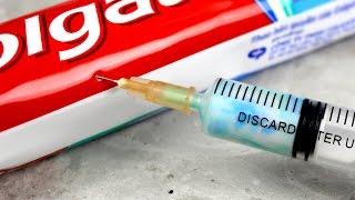 4 Awesome Syringe Life Hacks