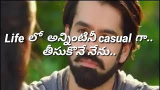 Love status WhatsApp ......... proposal scene from unnadhi okate zindagi........