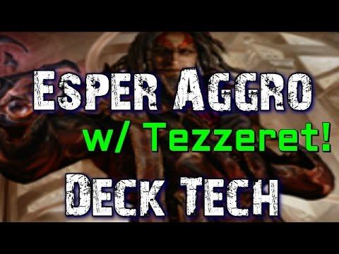 Mtg Deck Tech: Esper Aggro (featuring Tezzeret!)