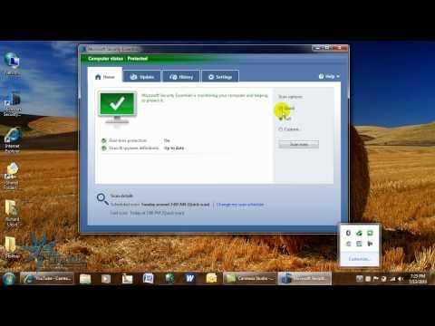Microsoft Security Essentials - Full Scan