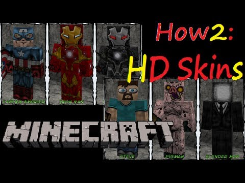 How2: HD Player Skins on Minecraft 1.3 / Tekkit  + Other Technic Launcher Mods