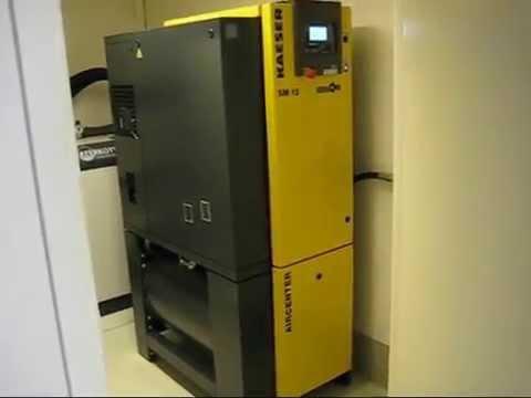 New air compressor - Kaeser SM12