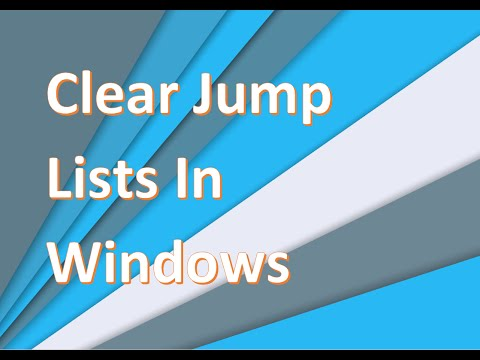 How To Clear Recently Opened Files From The Taskbar In Windows