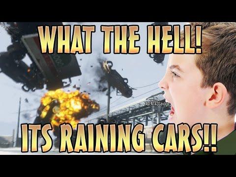 SNOW STORM TORNADO TROLLING! (GTA 5 Mods)