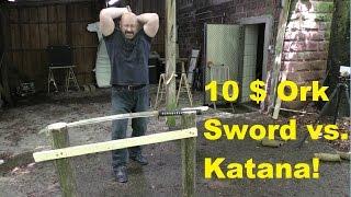Katana Mythbusting Extreme