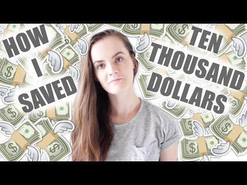 HOW I SAVED $10,000 IN ONE YEAR!    Azaria Bell