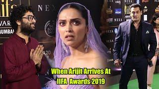 When Arijit Singh Arrives At IIFA Awards 2019 | Salman, Deepika #IIFA20