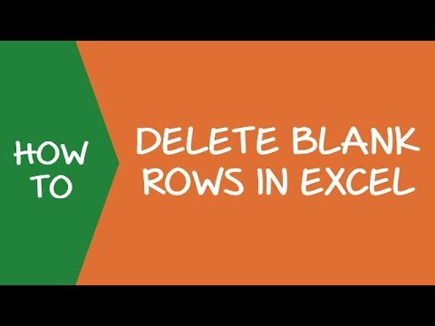 How to Delete Blank Rows in Excel (Step-by-step Guide)