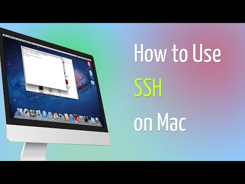 How to Use SSH on Mac