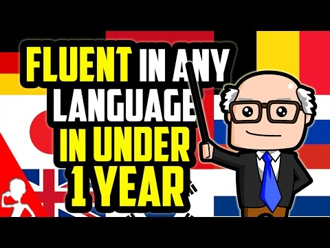 How To Become Fluent In Any Language In Under 1 Year | Get Germanized