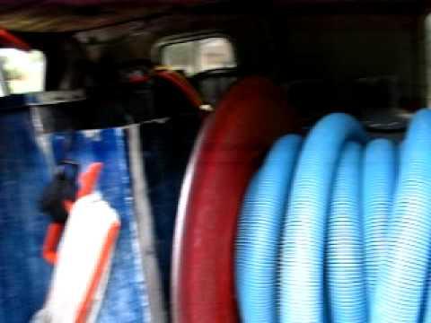 homemade truck mount carpet cleaning machine