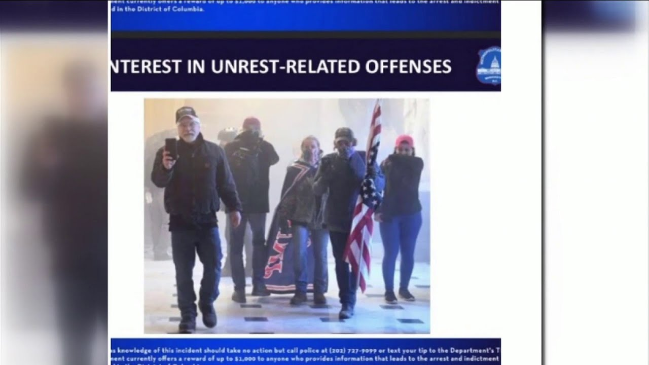 Middleburg couple accused of participating in siege of US Capitol