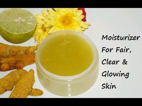 How to Make Moisturizer for Clear & Fair Skin