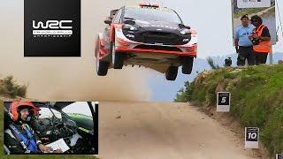 WRC - Vodafone Rally de Portugal 2017: Mads Østberg´s jump @ Fafe