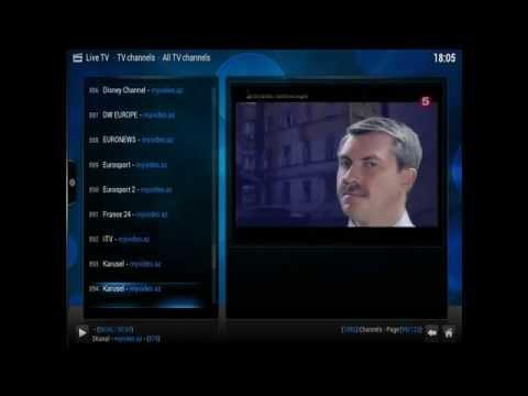 Updated XBMC Live TV 2016