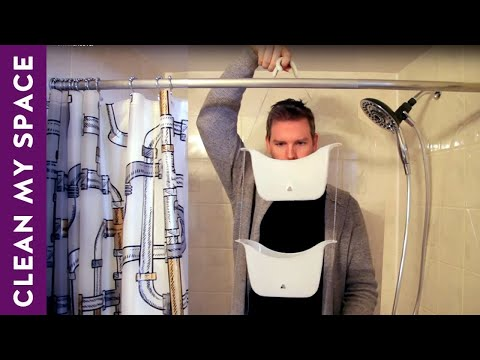Cheap Small Bathroom Makeover: Organization, Storage & Decor Ideas!