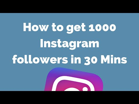 How to get 1000 Instagram followers in 30 Mins + Active Users + 100% Working Trick