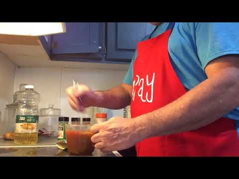 Making Cajun Ranch Crackers with Papay