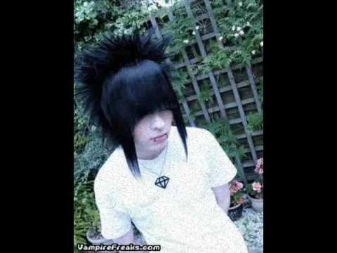 Emo scene hair for guys
