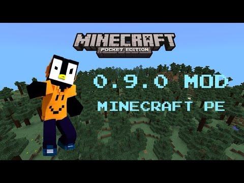 Minecraft PE: 0.9.0 MOD!! IOS/Android