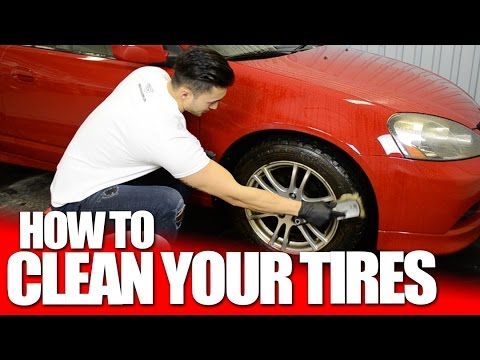 How to Clean Your Car Tires & Whitewalls