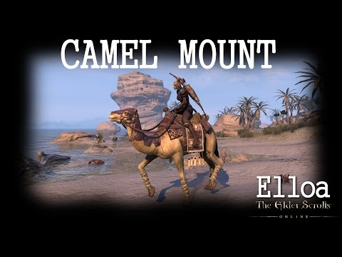 ESO - Camel Mount (with all riding accessories)