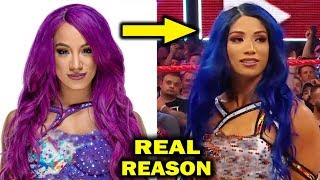 Real Reasons Why Sasha Banks Returned with a New Look & Turned Heel