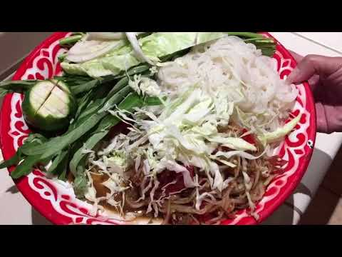 How to make papaya salad Lao style