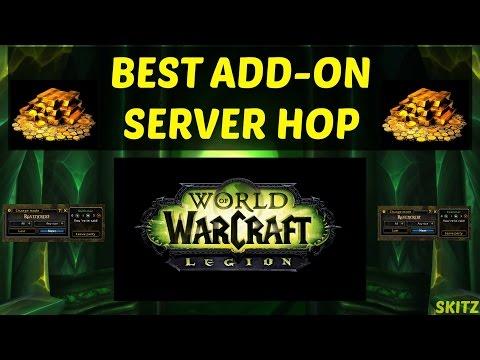 WoW Legion  Server Hop - Best Add-On!  (Yes it is legal)