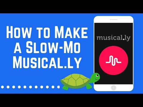 How to Easily Make a Slow-Mo Musical.ly Hands-Free 2018