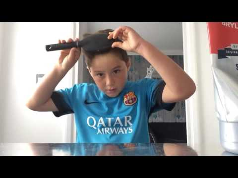 How to make Ronaldo's hair