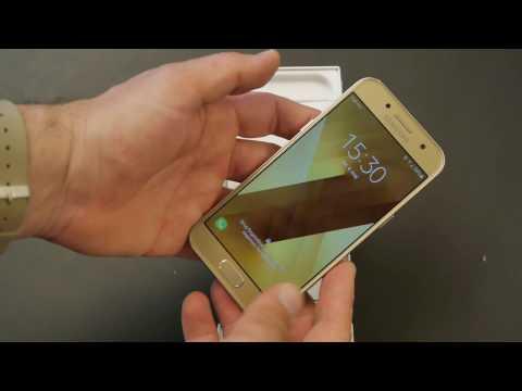 Samsung Galaxy A3 2017 hands on