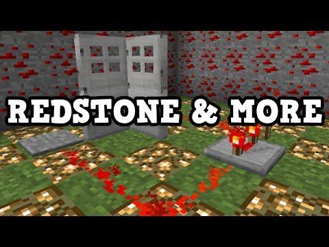 Minecraft Xbox One / Switch NEW VERSION - Redstone & Forced Saving