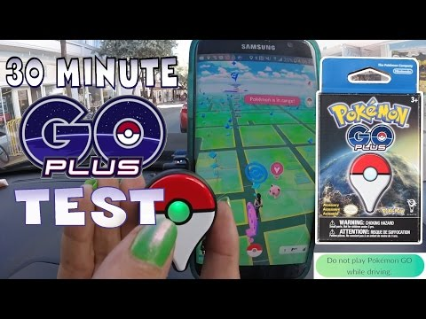Unboxing Pokemon Go PLUS Device ~ + 30 minute real-time test