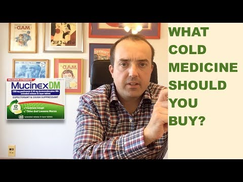 What cold medicine should you buy?