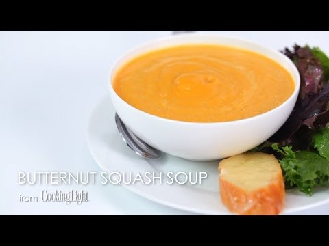 How to Make Butternut Squash Soup | MyRecipes