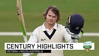 Pucovski powers his way to century for Vics