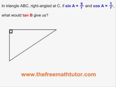 Assigning Sides For Trig Ratios - Examples 3 and 4