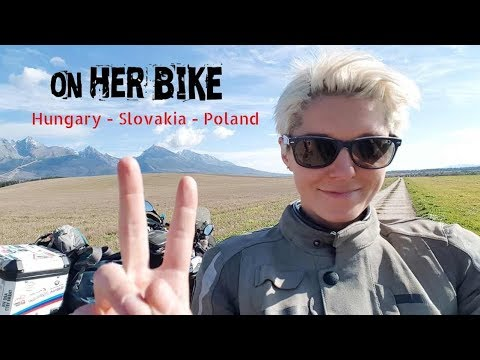 Hungary, Slovakia, Poland. On Her Bike Around the World. Episode 20